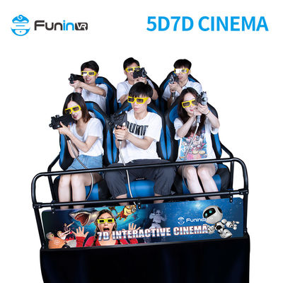 material metal  7D Cineme 5D Cinema Simulator 3D 4D 5D 6D Cinema Theater Movie Motion