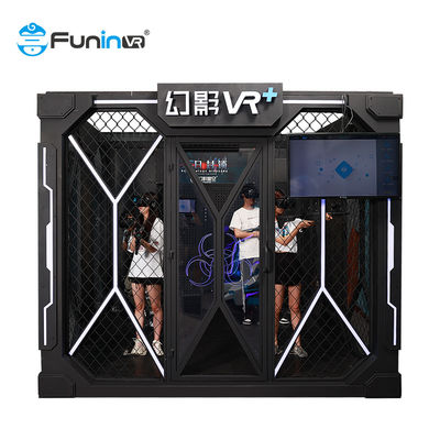 VR+ Park Rides Electronic Arcade Games 9D VR Multiplayer Dynamic Escape Room VR